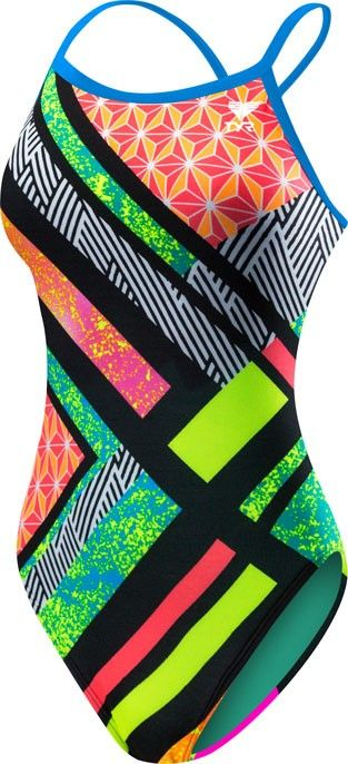 Girls' Supremo Crosscutfit Swimsuit - All Womens - Womens   TYR
