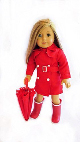 Doll Clothes for American Girl Dolls: 3 Piece Rain Outfit... https://www.amazon.com/dp/B0182S2HMA/ref=cm_sw_r_pi_dp_x_XarjybQ0PVPM4