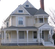 Bix Beiderbecke house, Davenport, IA