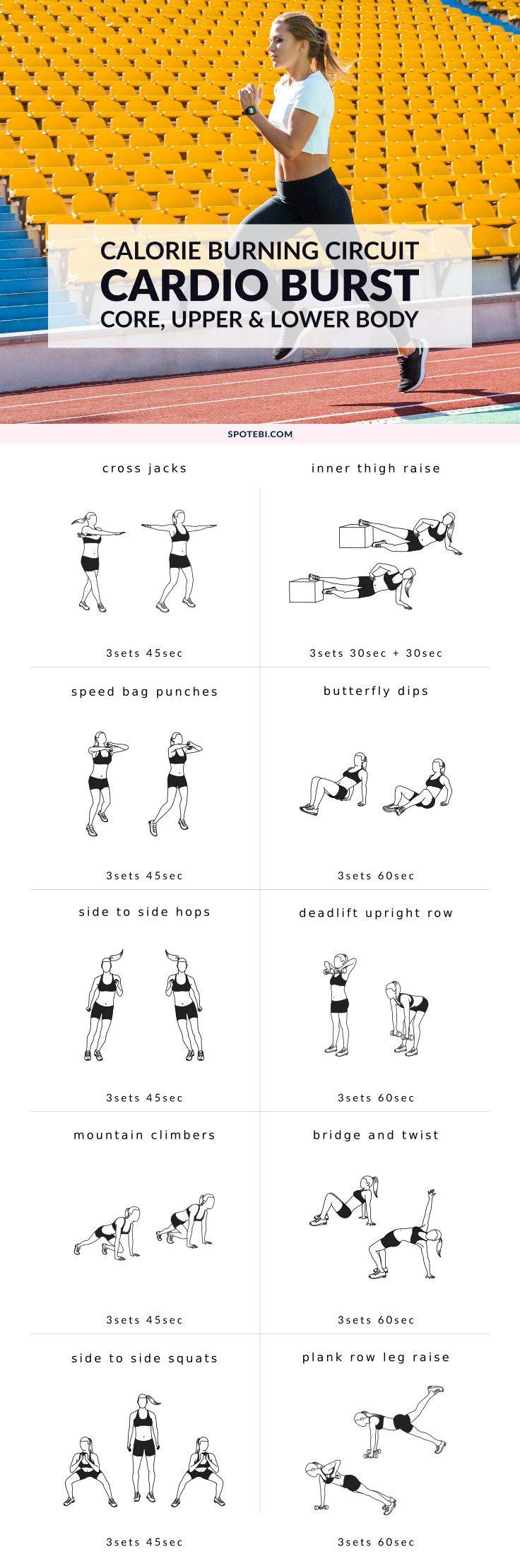 Full Body Cardio Burst Workout