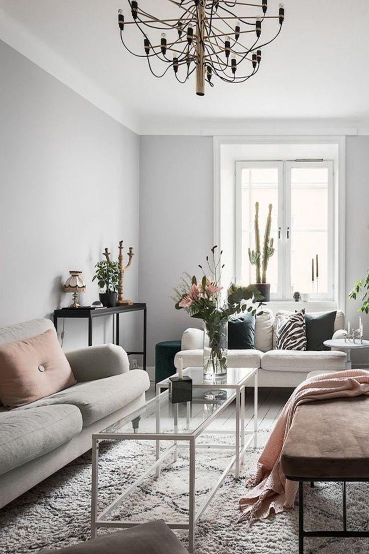 51 Scandinavian Stylish Living Room Decor Ideas Apartment