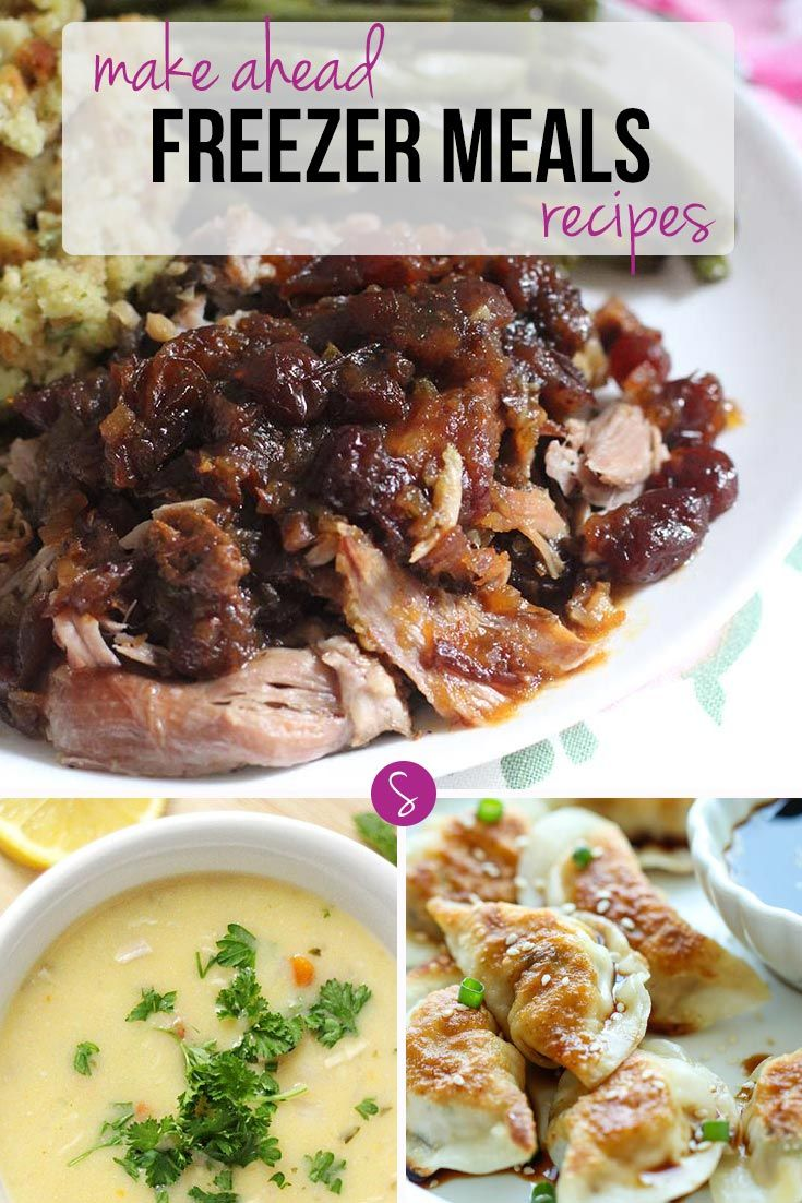 Who knew there were so many make ahead freezer meals recipes - from pot roasts to potstickers!