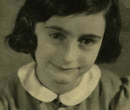 Anne Frank, what a brave, real heroine.