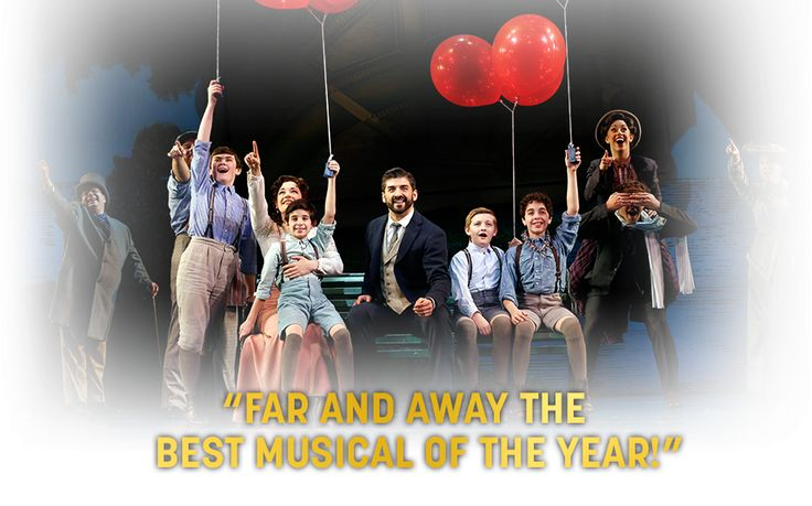 Discover the story of how Peter became Pan in FINDING NEVERLAND, Broadway's biggest new hit. Official site for tickets and information.