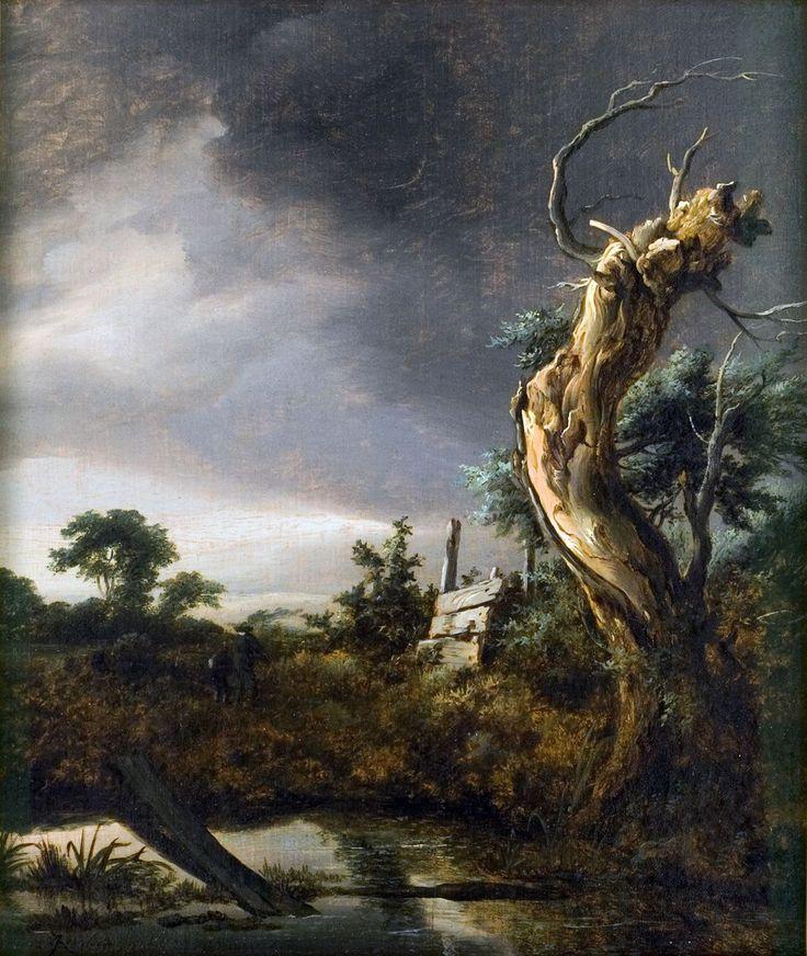 File:Jacob van Ruisdael - Landschap met dode boom bij opkomende storm.jpg