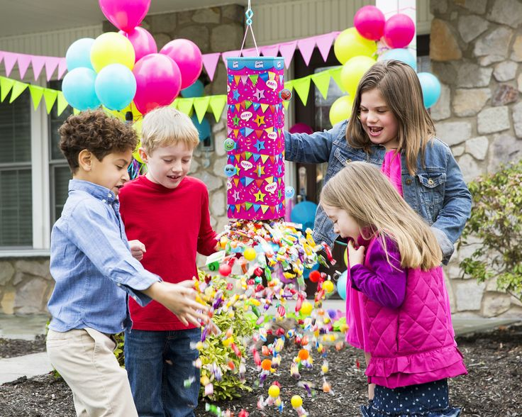 Goodie Gusher - Pixie Pink Candy Explosion. Kids Party Activity, Pinata Alternative