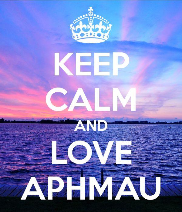 KEEP CALM AND LOVE APHMAU
