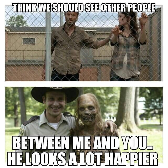 Sorry Lori.... I cried like a baby when she died. But for Carl, not Lori.