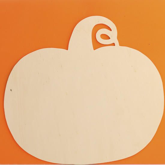 unfinished wood pumpkin cutout fall craft supplies fall and halloween holiday crafts