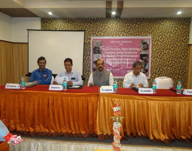 "Seminar on ""An Overview of Goods & Service Tax"" held in Bangalore on 29th May 2017.  Present on the occasion : Mr. M.V. Sridhar, KGS Cestax Advisors LLP, Bangalore, Mr. M.N.Yagnanarayan, General Secretary, Laghu Udyog Bharathi-Karnataka, Mr. K.L.Ramesh, Regional Convenor-SR, EPCH, Mr. K.S.Sharma, President, Laghu Udyog Bharathi-Karnataka.  #EPCHIndia #GST #Seminar — in Bangalore, India."