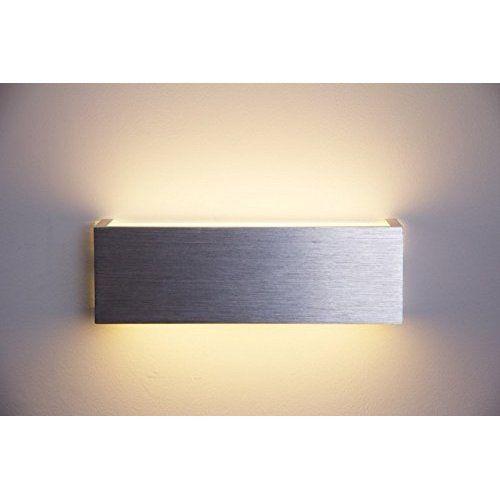 "SpiceLED®-Wandleuchte ""ShineLED-6"" 2x3W warmweiß dimmbar Wandlampe Leuchte LED Effekt"