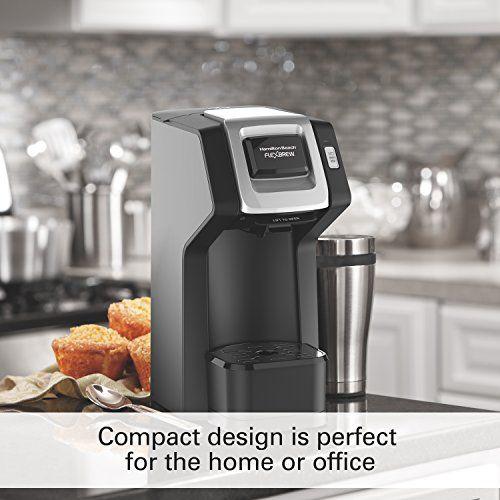 Hamilton Beach FlexBrew Single-Serve Coffee Maker for K-Cups and Ground Coffee (49974)$39.00