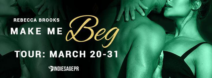 Blog Tour for Author Rebecca Brooks  Make Me Beg  by Rebecca Brooks  Men of Gold Mountain #2  Publication Date: March 20 2017  Genres: AdultEntangled: Brazen Contemporary Romance  BUY:  Amazon:http://amzn.to/2mfjrZu  Paperback:http://amzn.to/2nQngRB  B&N:http://bit.ly/2nz85jj  iBooks:http://apple.co/2mV1pJf  Kobo:http://bit.ly/2mSAdNg  Amazon UK:http://amzn.to/2mE19fO  Amazon CA:http://amzn.to/2nQroRk  Amazon AU:http://amzn.to/2n9kuJJ  SYNOPSIS:  Bartender Mackenzie Ellinsworth has always…