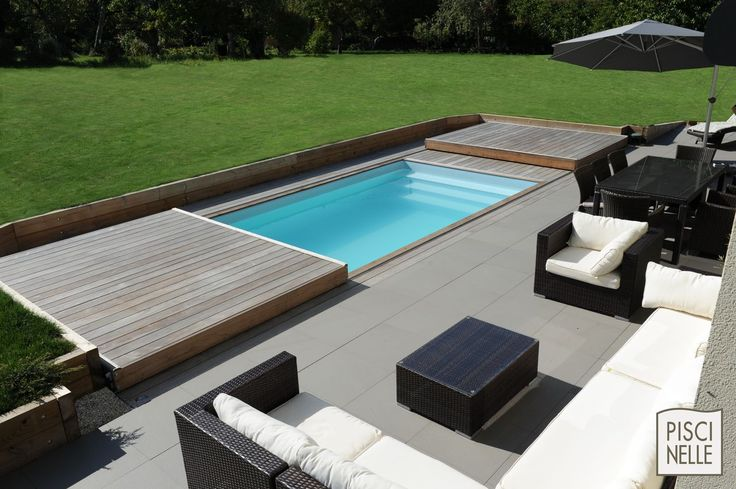 45 best terrasse mobile de piscine images on pinterest for Protege piscine