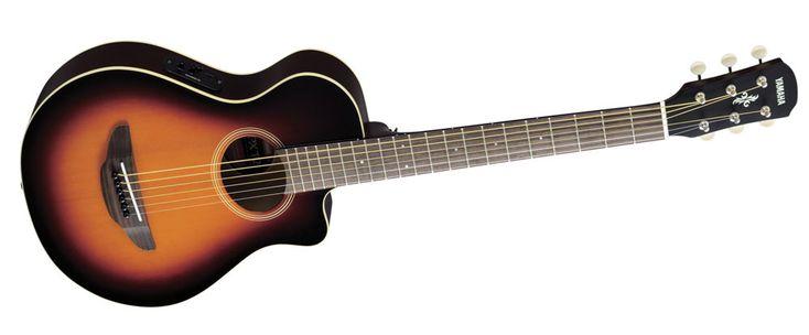 Yamaha APXT2 3/4 Scale Acoustic Electric Guitar Old Violin Sunburst Finish