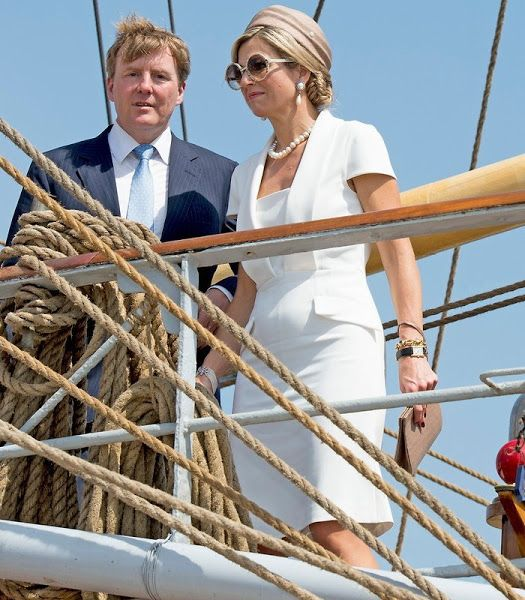 King Willem-Alexander and Queen Maxima visits Aruba for Sail Aruba 1st May, 2015