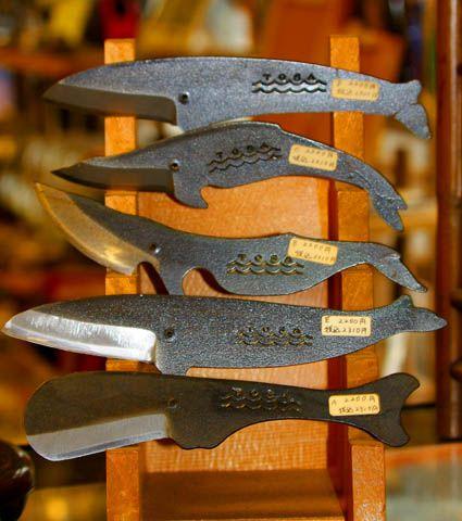 鯨ナイフ Whale Knife