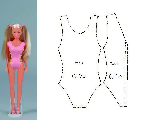 куклы барби как им шить одежду картинки
