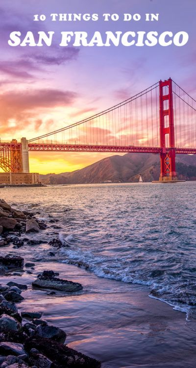 Here's a full travel guide full of things to do in San Francisco, California if it's your first time! From the Golden Gate Bridge to Napa Valley and more, click to read more. #thingstodoinsanfrancisco #sanfrancisco #ustravel