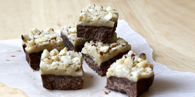 Easy sugar-free Caramel Nut Slice by Lillian Dikmans - I Quit Sugar