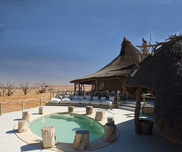 Little Kulala, Sossusvlei, Namibia. Wedding Inspirations Winter 2012 (June)