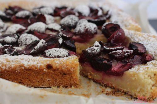 Kuchen met kersen, patesserie.com, chili