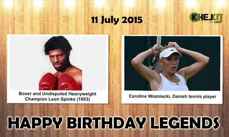 Happy Birthday #Sports #legends  #LeonSpinks - is a former American #boxer and only man to hold titles in both boxing & #Wrestling. In his eighth professional bout, Spinks won the undisputed #WorldHeavyweightChampionship when he beat #MuhammadAli on February 15, 1978. #CarolineWozniacki - is a Danish professional #TennisPlayer.She is a former World No. 1 on the #WTA Tour, having held this position for 67 weeks. She was the first woman from a Scandinavian country to hold the top ranking…