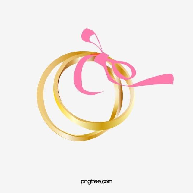 خاتم ذهبي خاتم خطوبة خاتم ذهب حلقة Png والمتجهات للتحميل مجانا Digital Sticker Golden Ring Rings