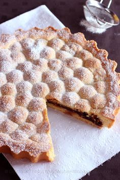 Crostata di Amarene & Amaretti