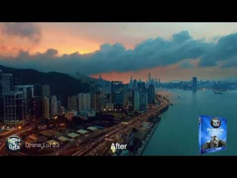 Looks & Luts for color grading and color correction
