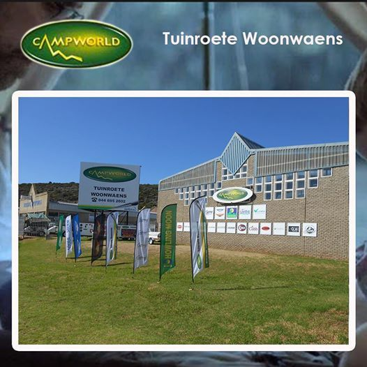 Tuinroete Woonwaens Campworld will be open for business today, if you are in need of any camping equipment or just want to browse for something you might need, come down to our showroom in Voorbaai. Loads of Easter specials for everybody this weekend. Click http://bit.ly/1on69Vz for more information. #easterspecials #campingequipment #outdoors