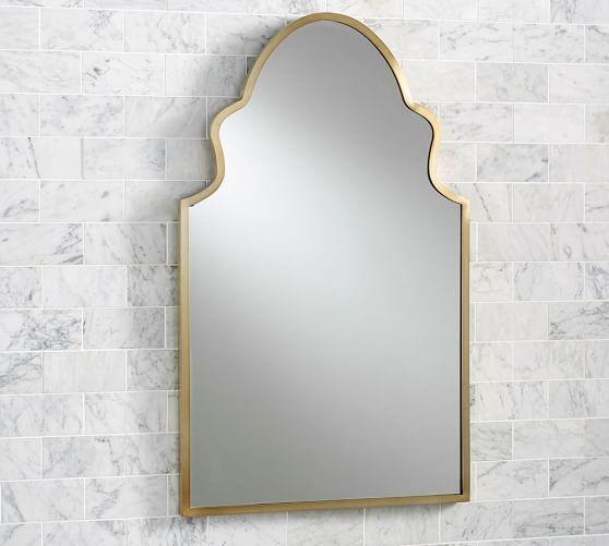 Stella Powder Room Mirror | Pottery Barn
