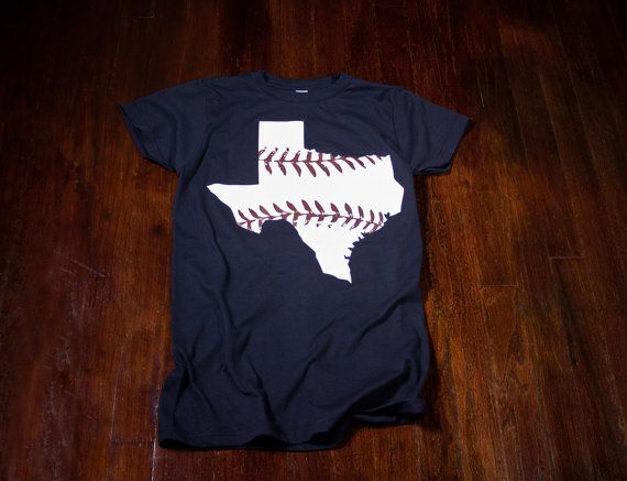 Texas baseball Ladies tshirt in Texas Rangers colors by watatees @Tessa McDaniel McDaniel Montgomery