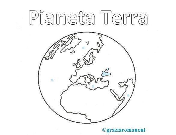 pianeta terra disegni da colorare immagini - Cerca con Google