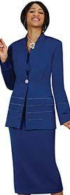 GMI G23108-Royal - Three Piece Womens Usher Suit