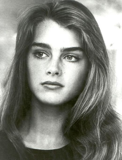 Brooke shields/endless love/8x10 copy photo g8544 // DESERTPEACHES.COM