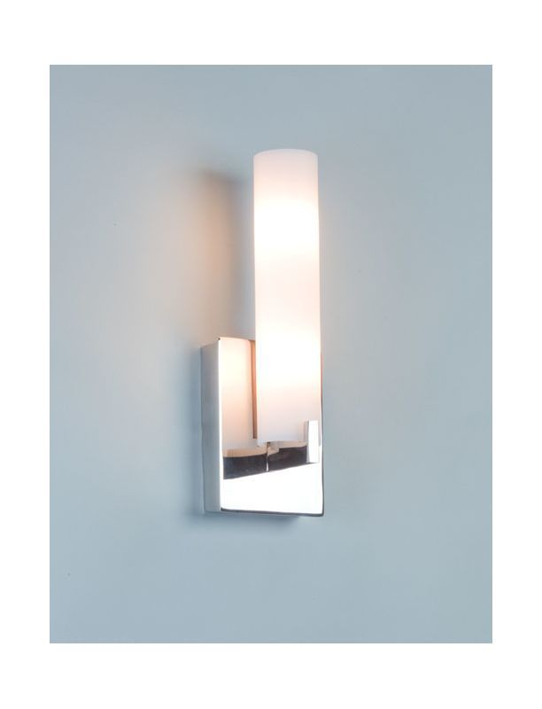 "Illuminating Experiences ELF1I Elf 2 Light 5"" Inch Wide ADA Compliant Bathroom W Polished Nickel Indoor Lighting Bathroom Fixtures Bathroom Sconce"