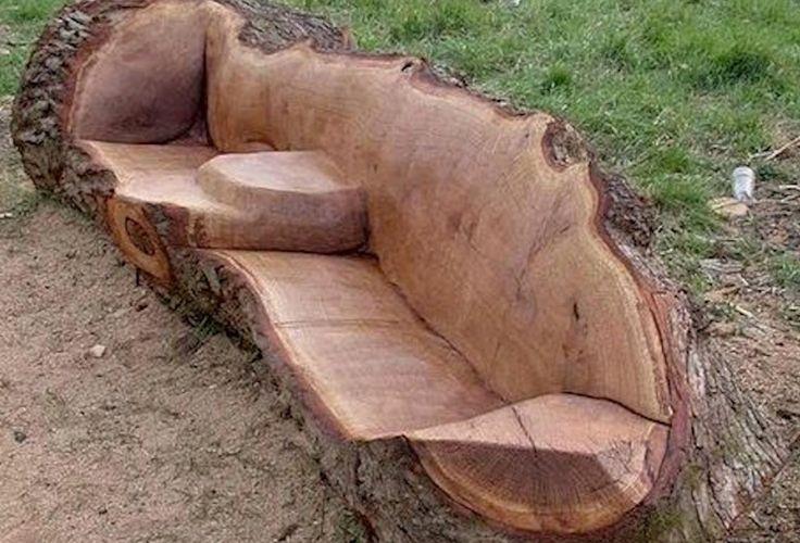DIY Holz Bank