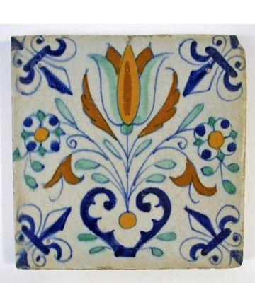 Tulptegel, 17e eeuw