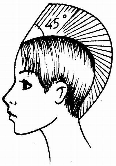 соединительная стрижка - универсальная короткая женская стрижка