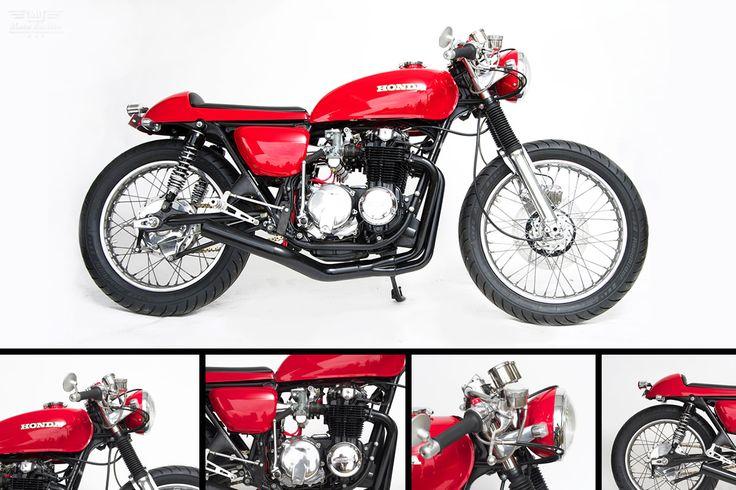 1976 Honda CB550 Vintage Cafe Racer