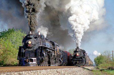 Comboios a vapor                                                                                                                                                                                 Mais