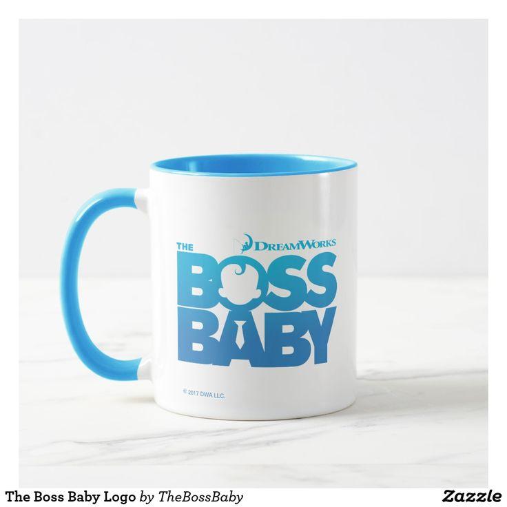The Boss Baby Logo. Regalos, Gifts. Producto disponible en tienda Zazzle. Tazón, desayuno, té, café. Product available in Zazzle store. Bowl, breakfast, tea, coffee. #taza #mug