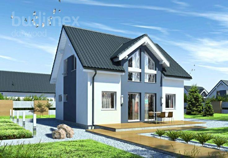 Eineinhalbgeschossige Häuser 118.14 || #houses #hauser || http://www.danwood.de/hauser/eineinhalbgeschossige/point-118-14