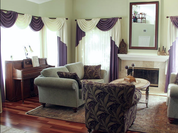 1000 images about house living room on pinterest for Purple and taupe bedroom