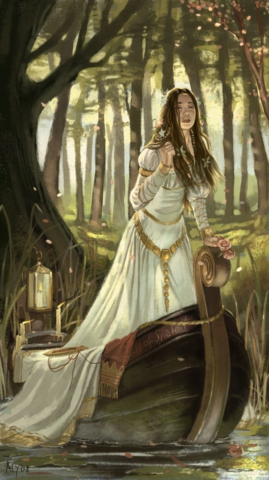 Lady of Shalott.