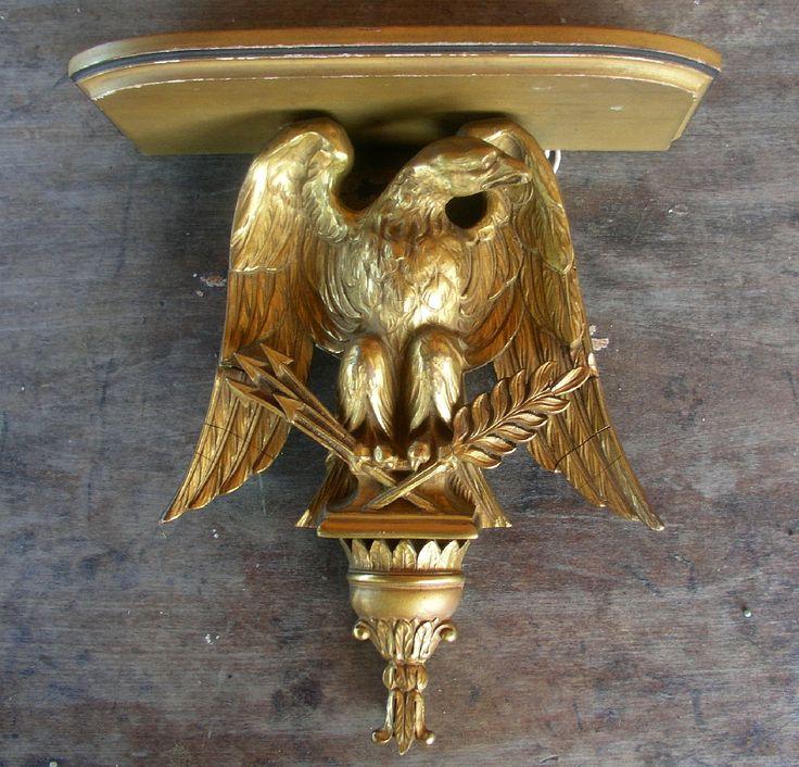 small plaster eagle self