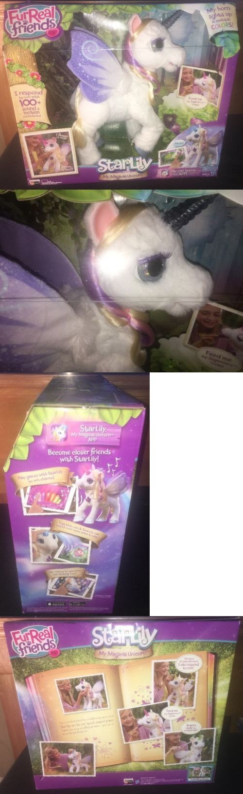 FurReal Friends 38288: Furreal Friends My Magical Unicorn Starlily Interactive Star Lily -> BUY IT NOW ONLY: $119.99 on eBay!
