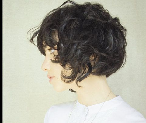 The Pursuit Aesthetic Hair Curls Pinterest Short Hair Styles