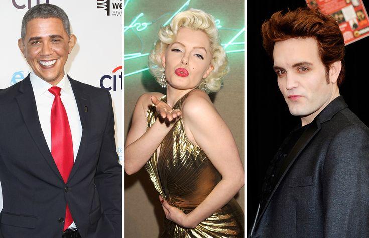 Bono, Obama e Usher: compare sósias com originais